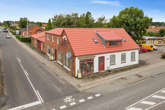 Boligudlejning på Grønbækvej i Silkeborg - Set fra vejen