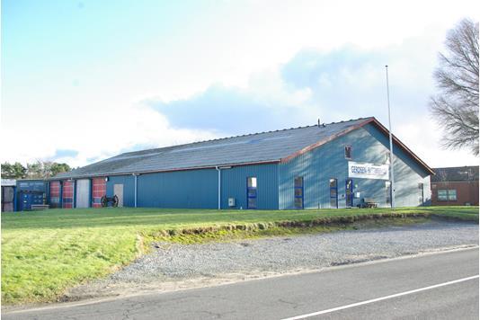 Produktion/lager på Hårupvej i Silkeborg - Ejendommen