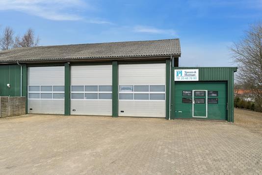 Produktion/lager på Sønderkrogen i Silkeborg - Ejendommen