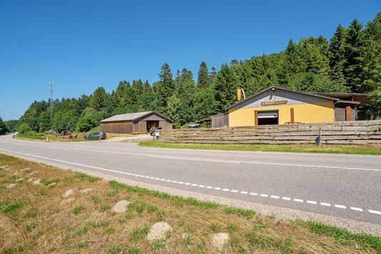 Produktion/lager på Silkeborgvej i Brædstrup - Ejendommen