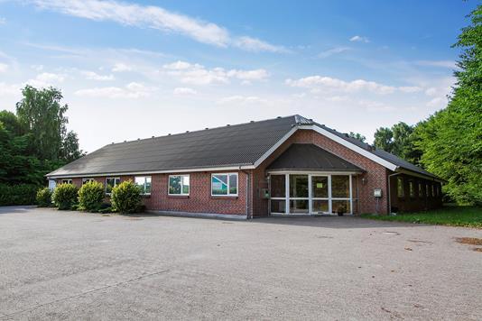 Kontor på Vinkelvej i Kjellerup - Ejendommen