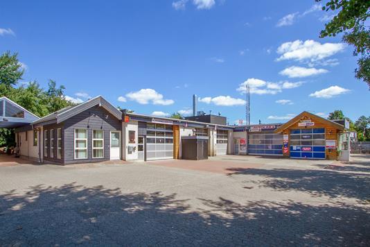 Produktion/lager på Ballevej i Silkeborg - Ejendommen