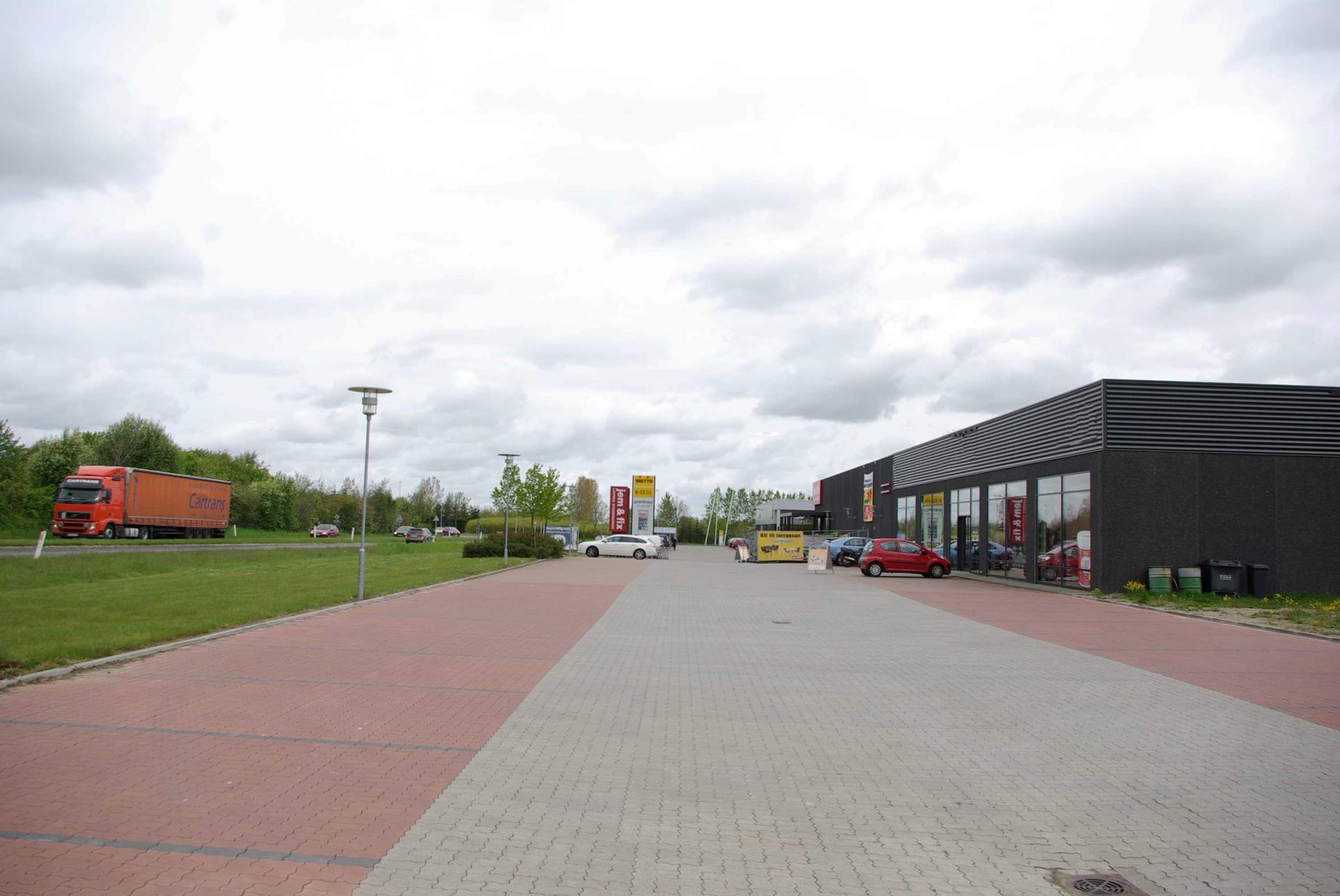 Detail på Parallelvej i Kjellerup - Andet