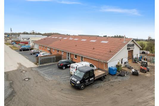 Produktion/lager på Østergårdsvej i Højslev - Andet