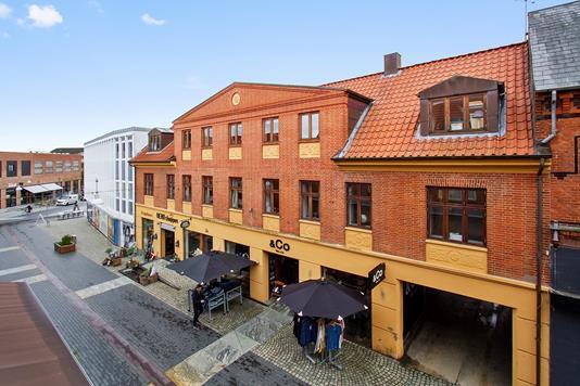 Bolig/erhverv på Frederiksgade i Skive - Facade