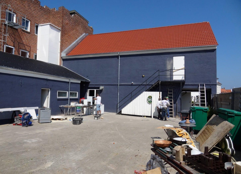 Bolig/erhverv på Havnegade i Nykøbing M - Bag facade
