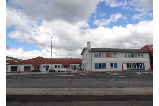 Bolig/erhverv på Østerbro i Skive - Ejendommen