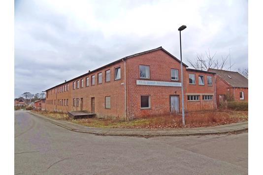 Produktion/lager på Mølkærvej i Roslev - Ejendommen