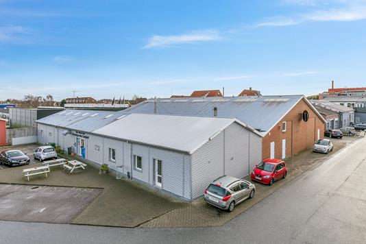 Produktion/lager på Viborgvej i Skive - Ejendommen