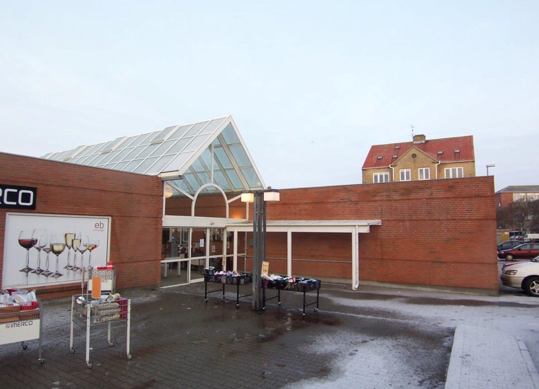 Detail på Grønnegade i Nykøbing M - Indgang