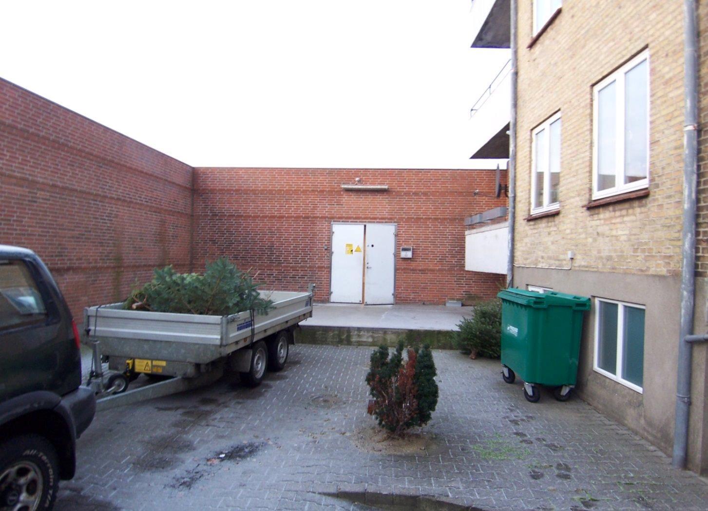 Detail på Grønnegade i Nykøbing M - Gård