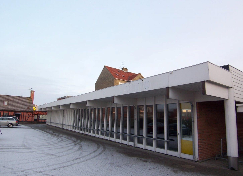 Detail på Grønnegade i Nykøbing M - Ejendommen