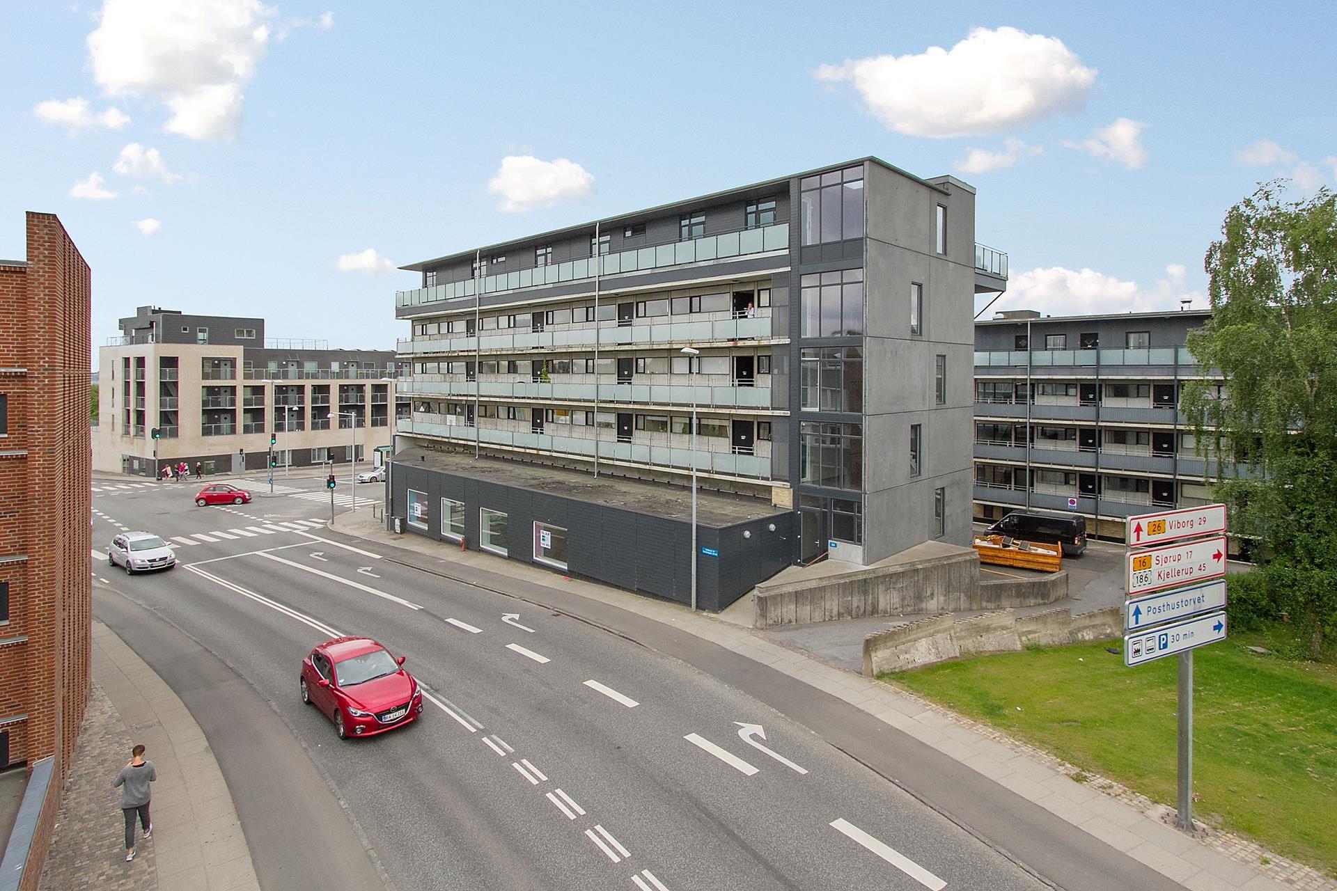 Detail på Søndergade i Skive - Ejendommen