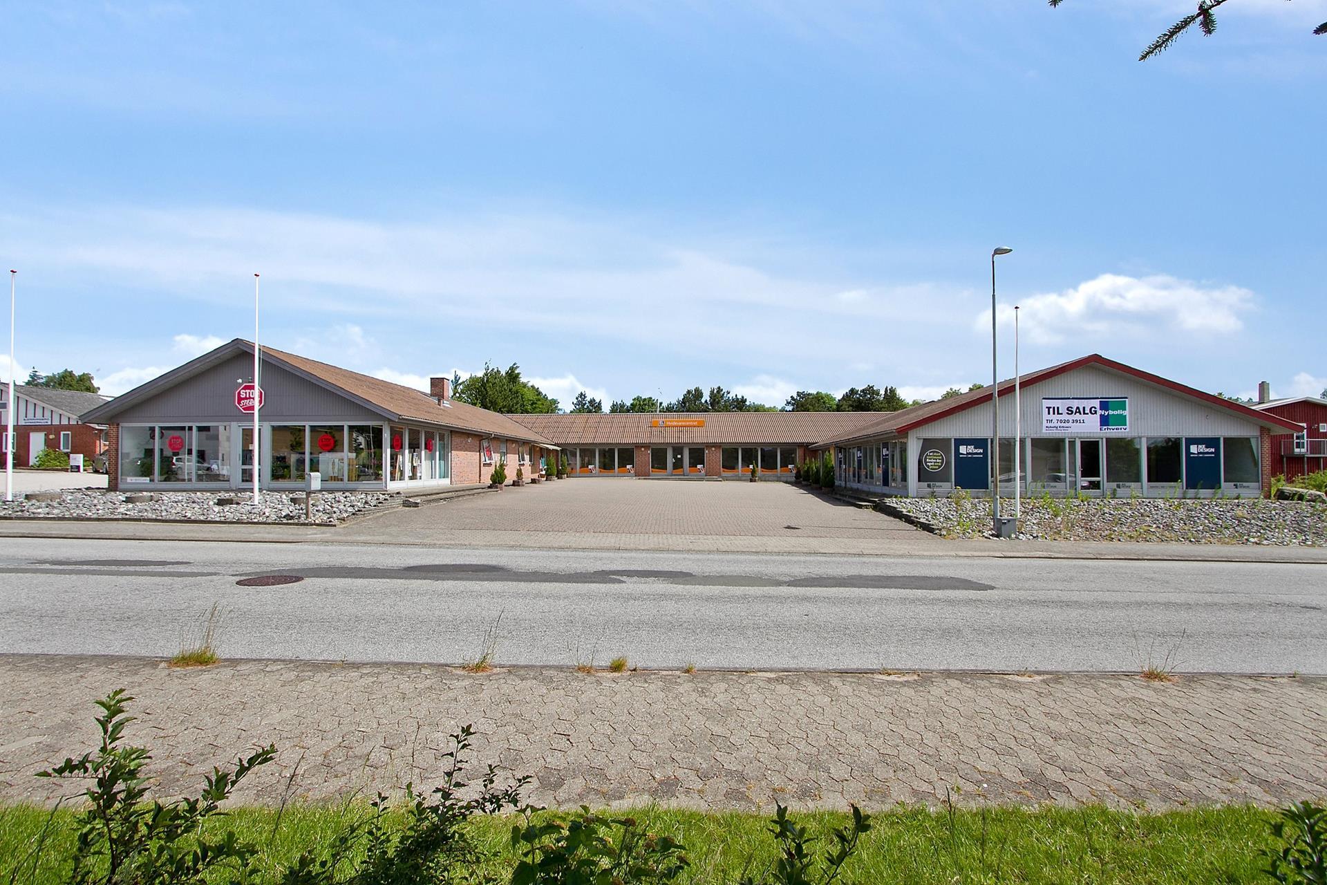 Bolig/erhverv på Pilevej i Bjerringbro - Ejendommen