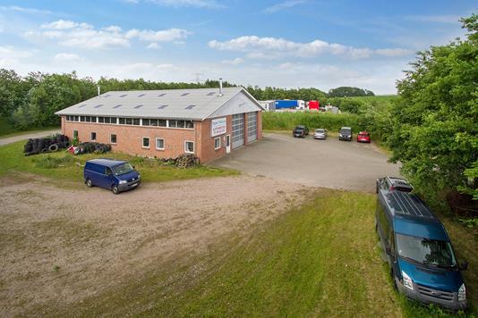 Produktion/lager på Vansøgårdsvej i Tjele - Ejendommen