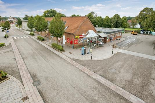 Detail på Søndergade i Rødkærsbro - Ejendommen