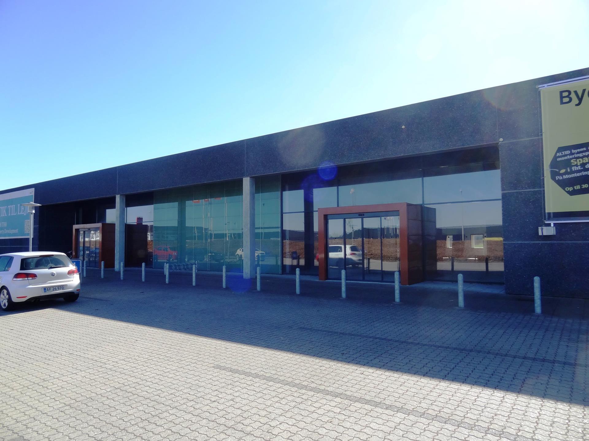 Detail på Center Vest i Viborg - Andet