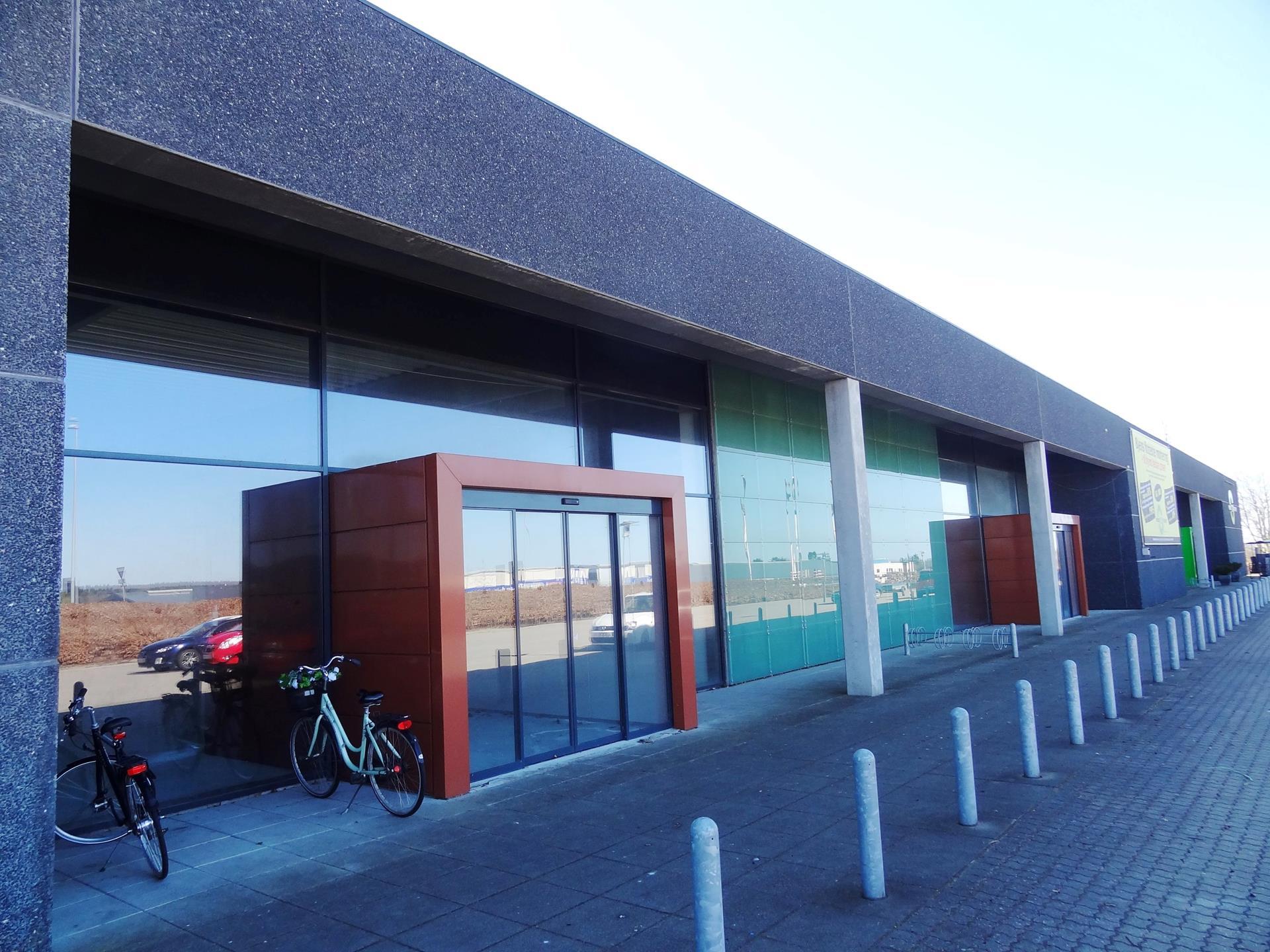Detail på Center Vest i Viborg - Ejendommen