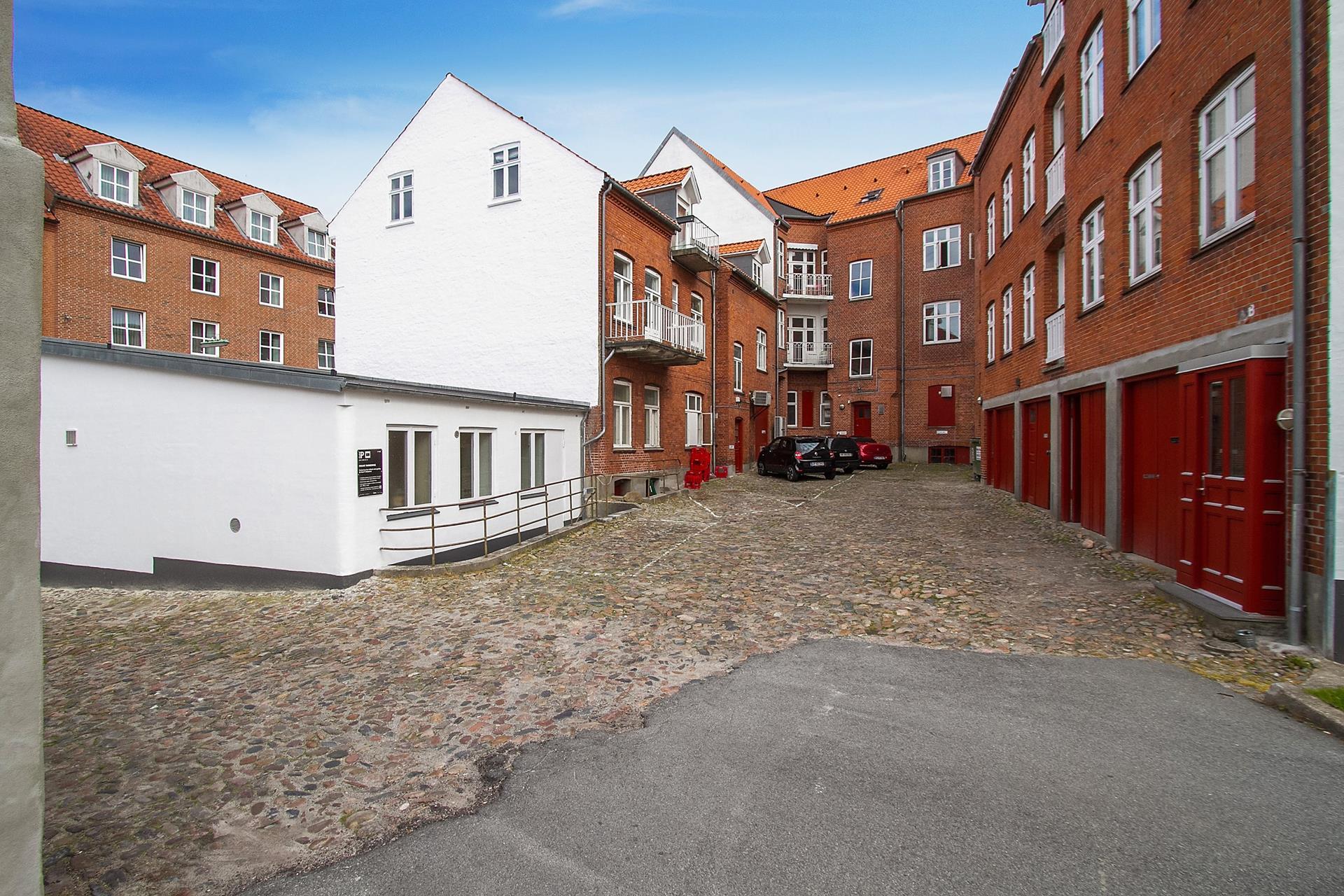Detail på Dumpen i Viborg - Gård