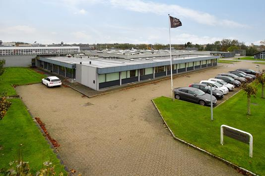 Produktion/lager på Karlskogavej i Aalborg SV - Facade