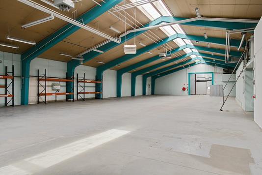 Produktion/lager på Porsvej i Aalborg - Lagerhal
