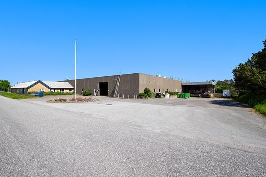 Kontor på Hagensvej i Støvring - Ejendommen