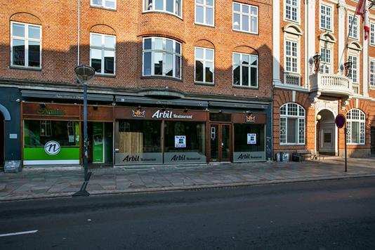 Restauration på Boulevarden i Aalborg - Ejendommen