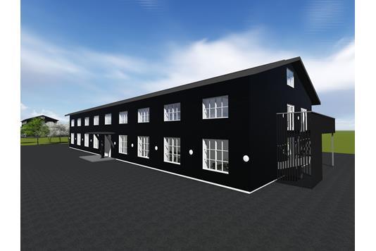 Kontor på Tagholm i Nørresundby - Ejendommen
