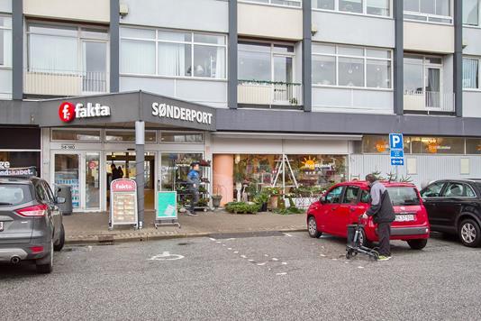 Detail på Østerbrogade i Nørresundby - Ejendommen