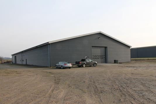 Produktion/lager på Industrivej i Vodskov - Ejendommen