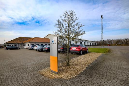 Produktion/lager på Kystvejen i Nørresundby - Ejendommen