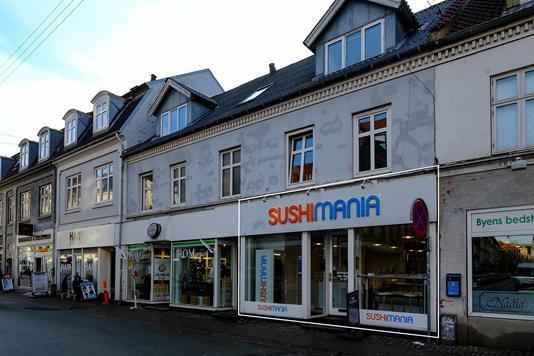 Kontor på Reberbansgade i Aalborg - Facade