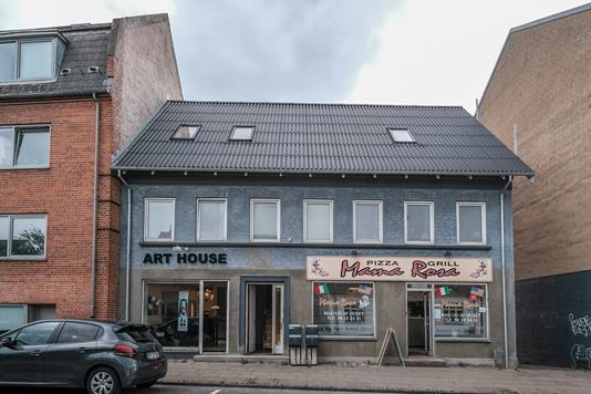Bolig/erhverv på Hadsundvej i Aalborg - Ejendommen
