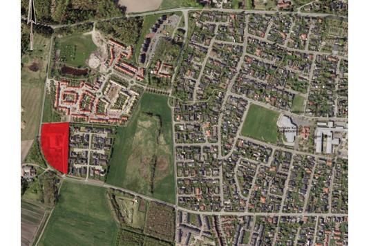 Projektejendom på Langbrokrovej i Vodskov - Kort