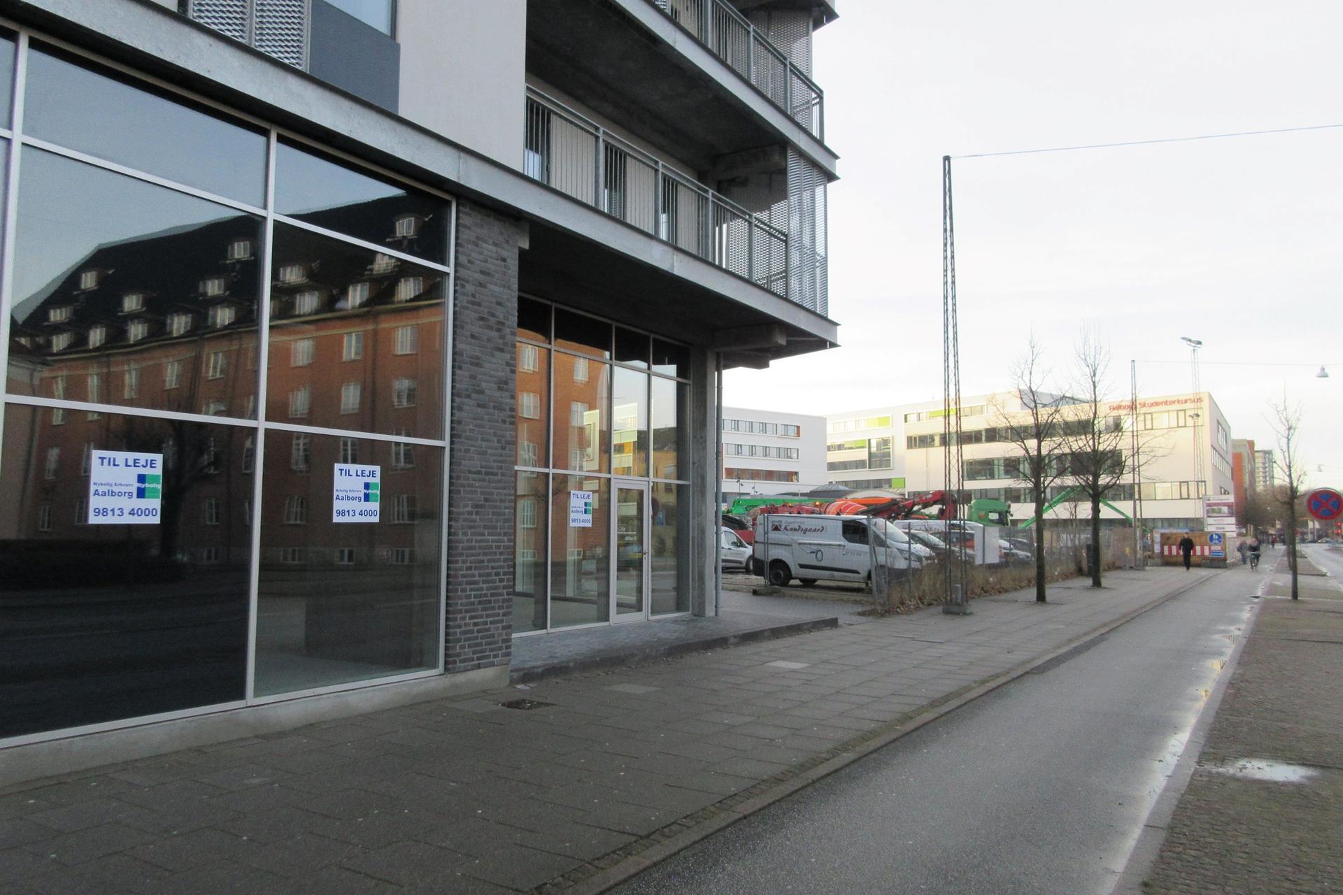 Detail på Godsbanen i Aalborg - Facade