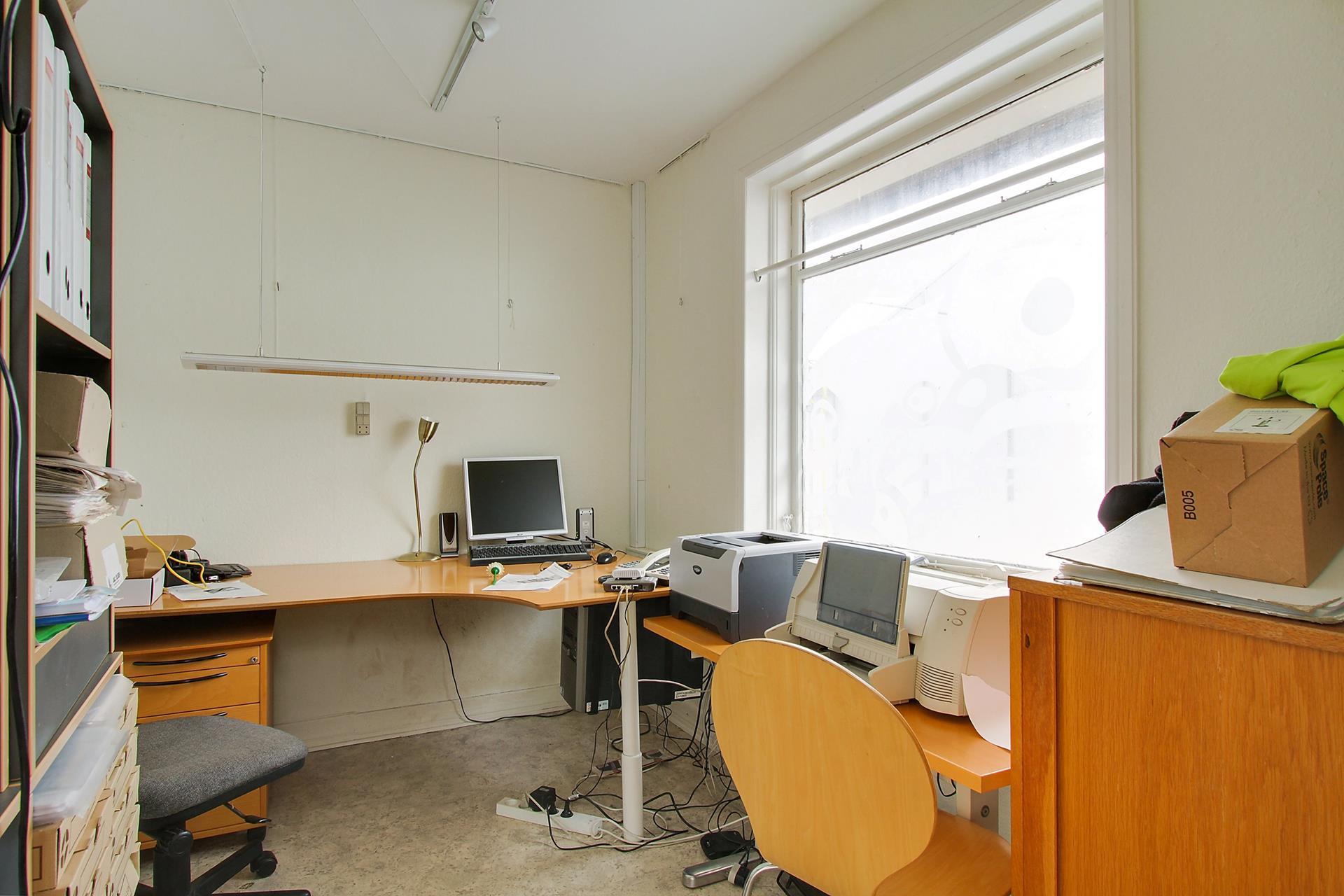 Bolig/erhverv på Aggersundvej i Fjerritslev - Arbejdsværelse