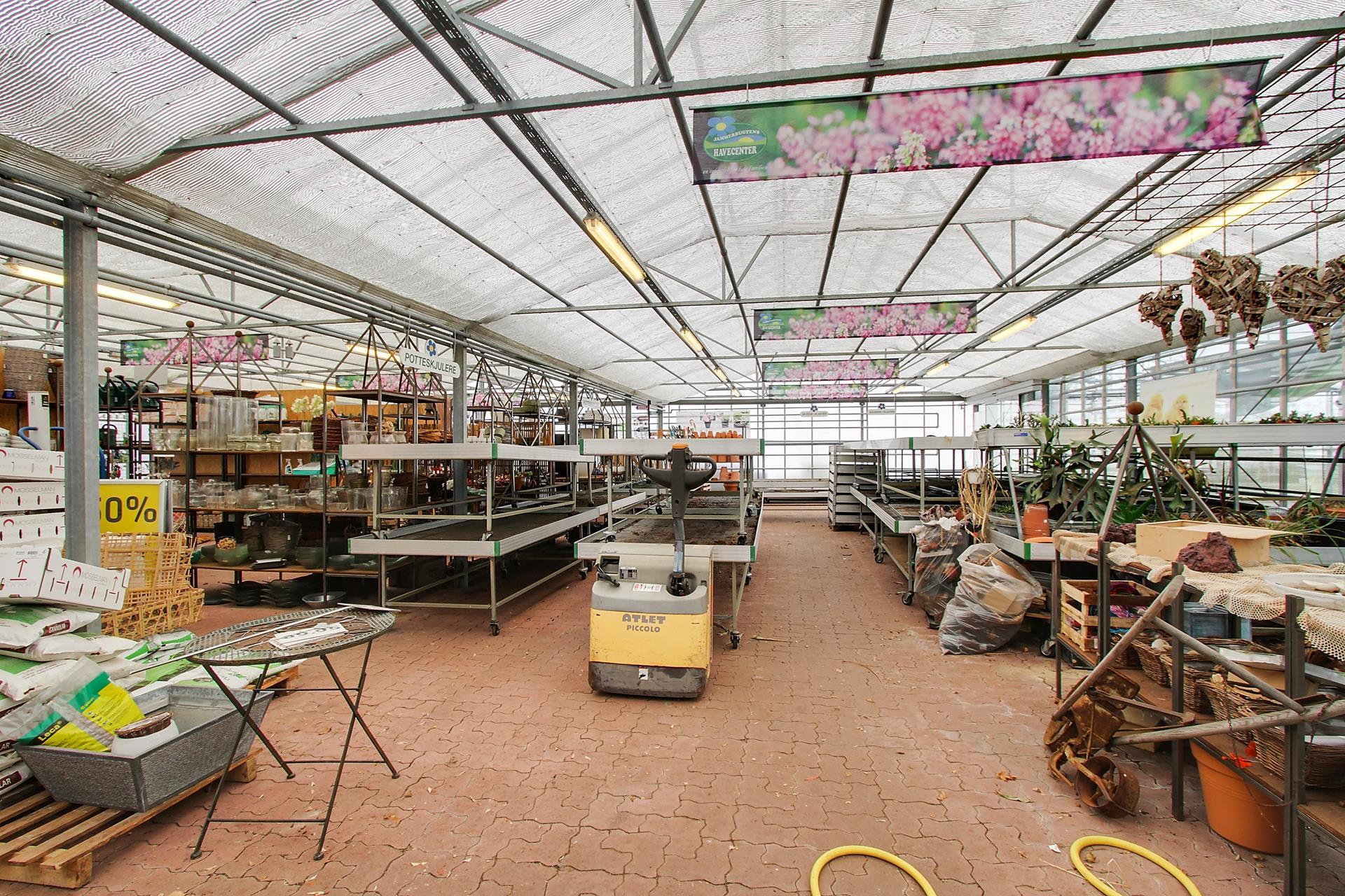 Bolig/erhverv på Aggersundvej i Fjerritslev - Forretningslokale
