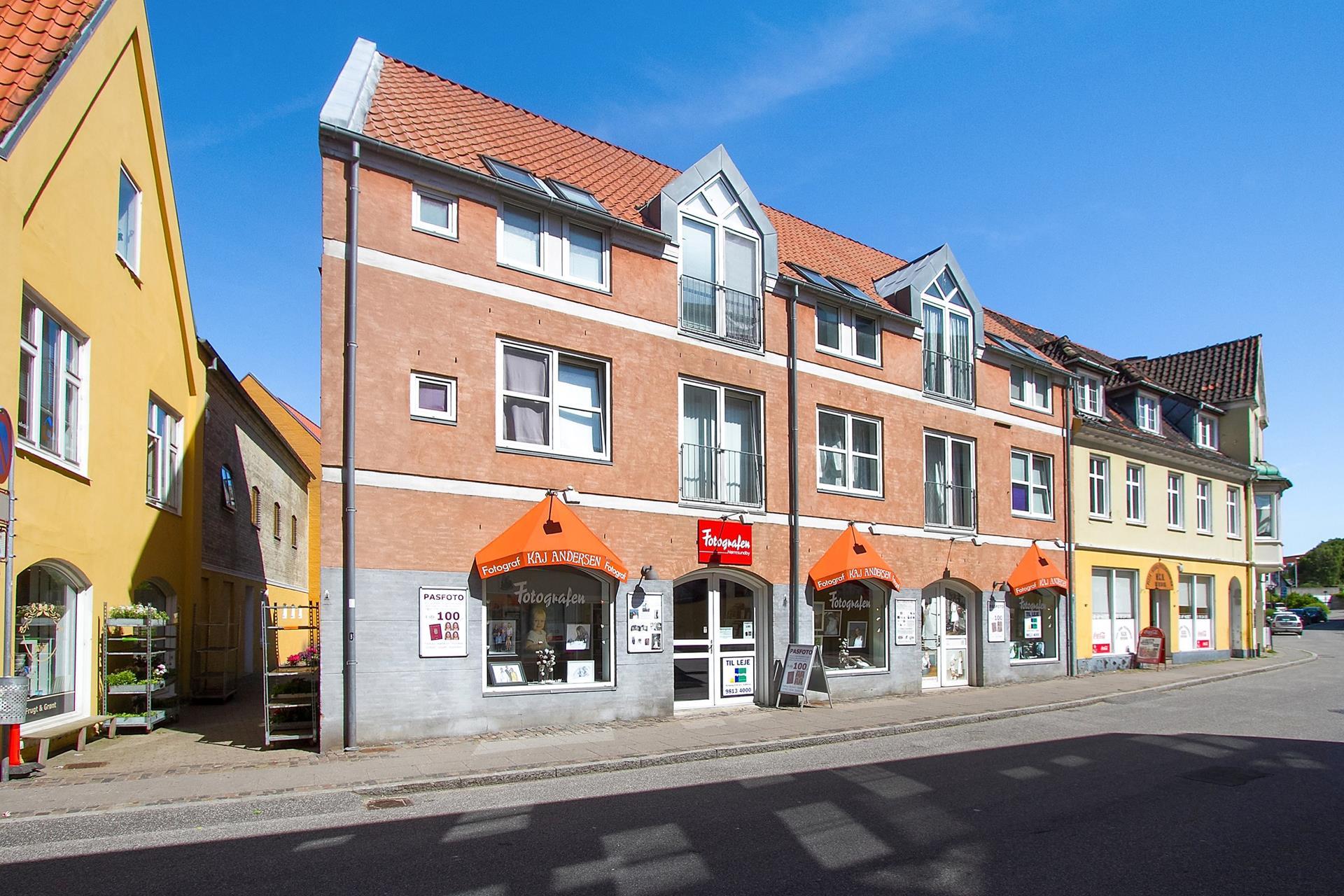 Detail på Skrågade i Nørresundby - Facade