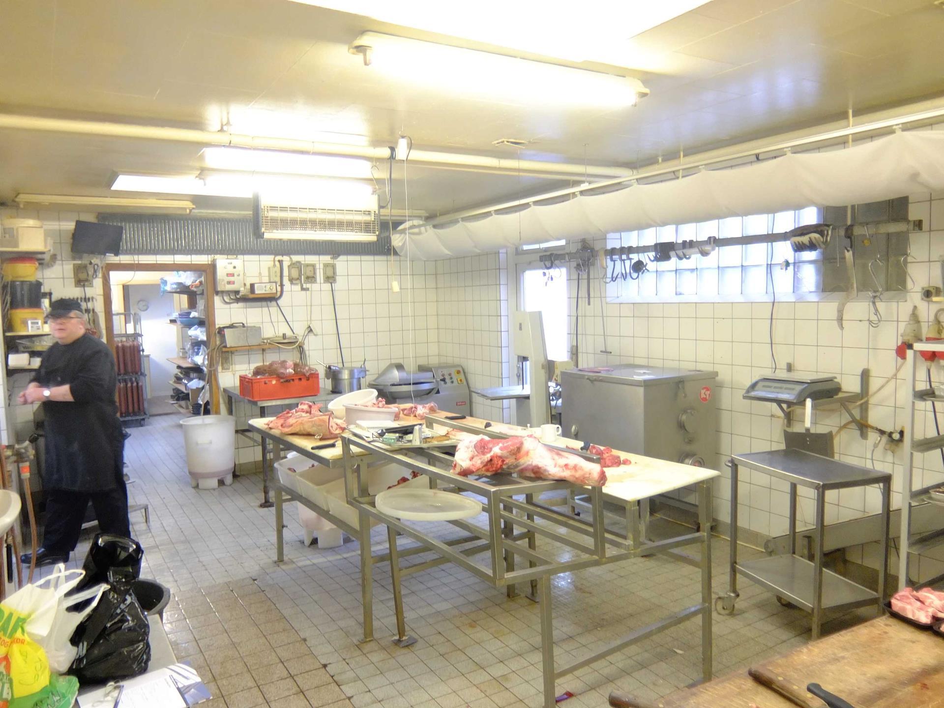 Bolig/erhverv på Østergade i Fjerritslev - Køkken