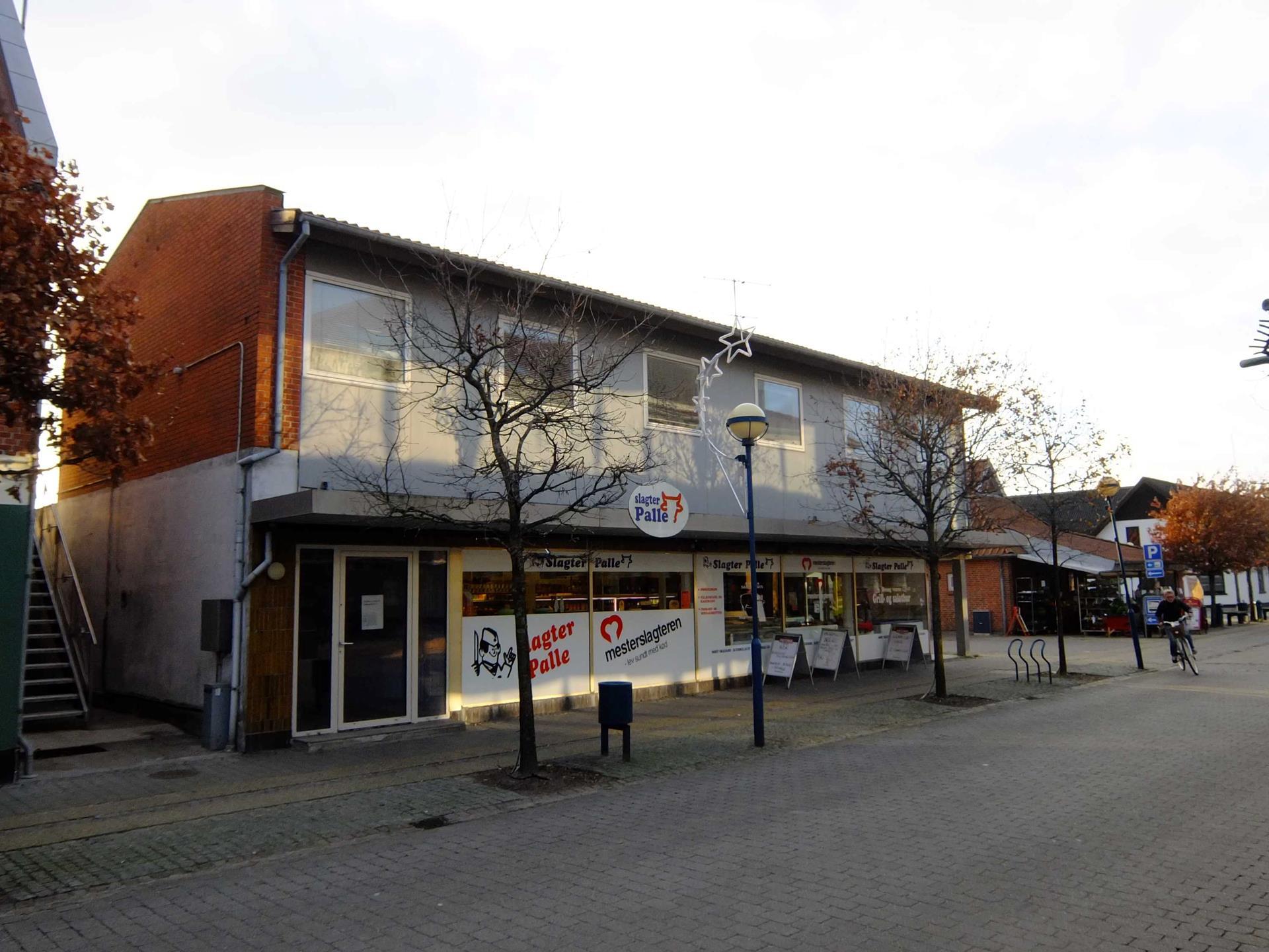 Bolig/erhverv på Østergade i Fjerritslev - Ejendommen