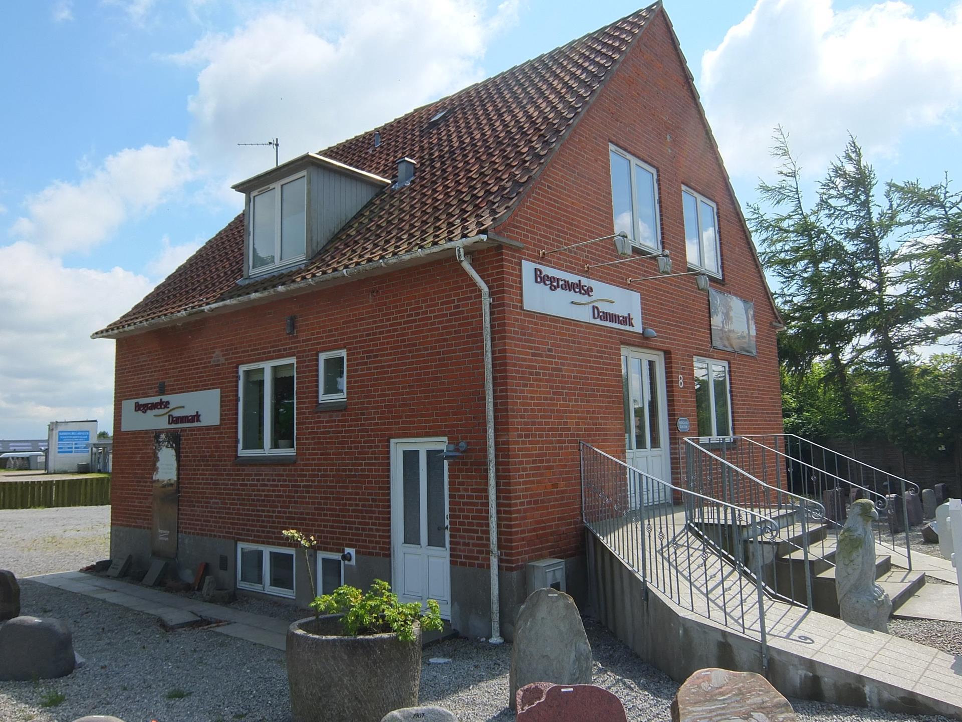 Bolig/erhverv på Ringvejen i Hjørring - Ejendommen