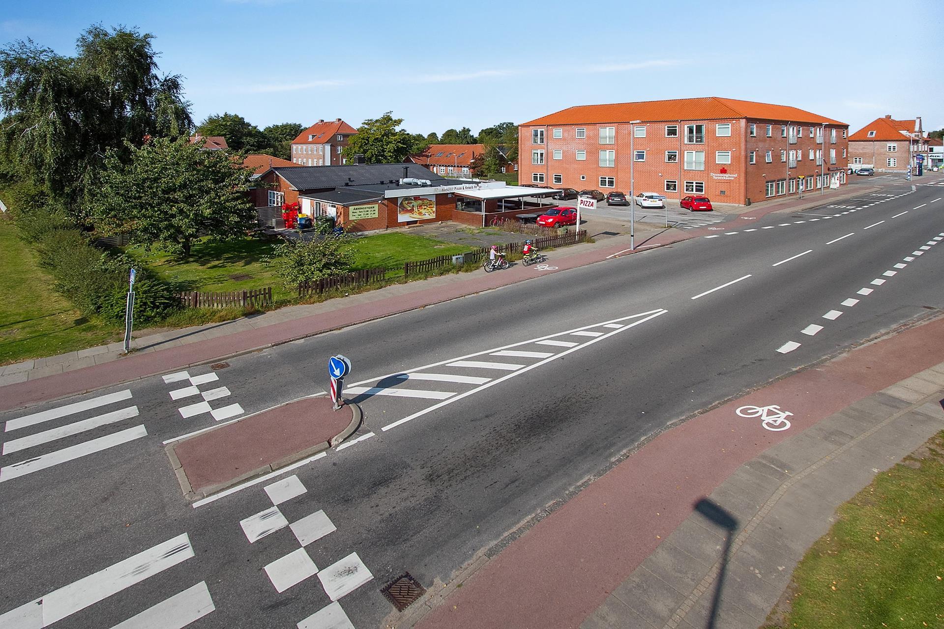 Boligudlejning på Jernbanegade i Hjallerup - Ejendommen