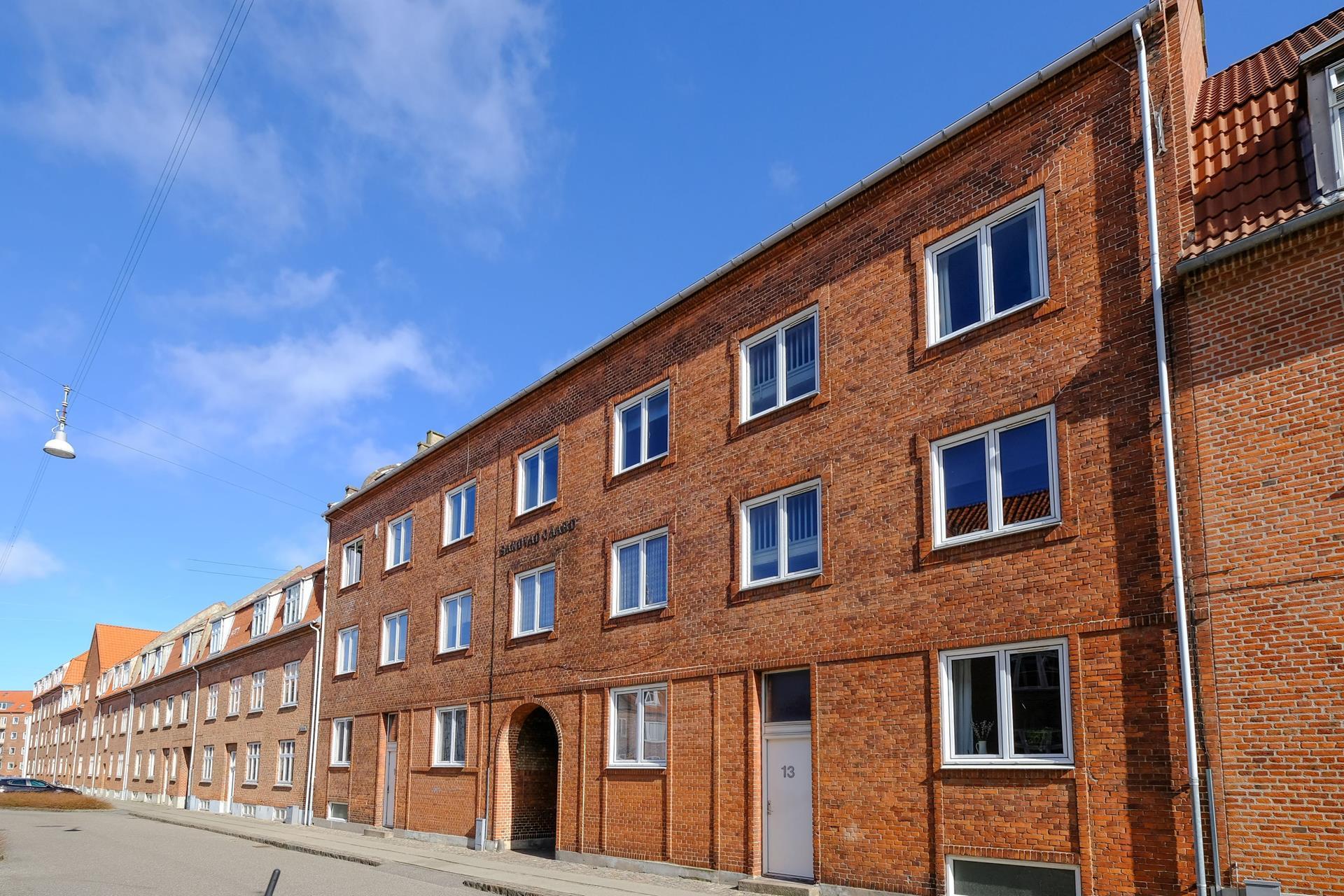 Boligudlejning på Norgesgade i Aalborg - Ejendommen