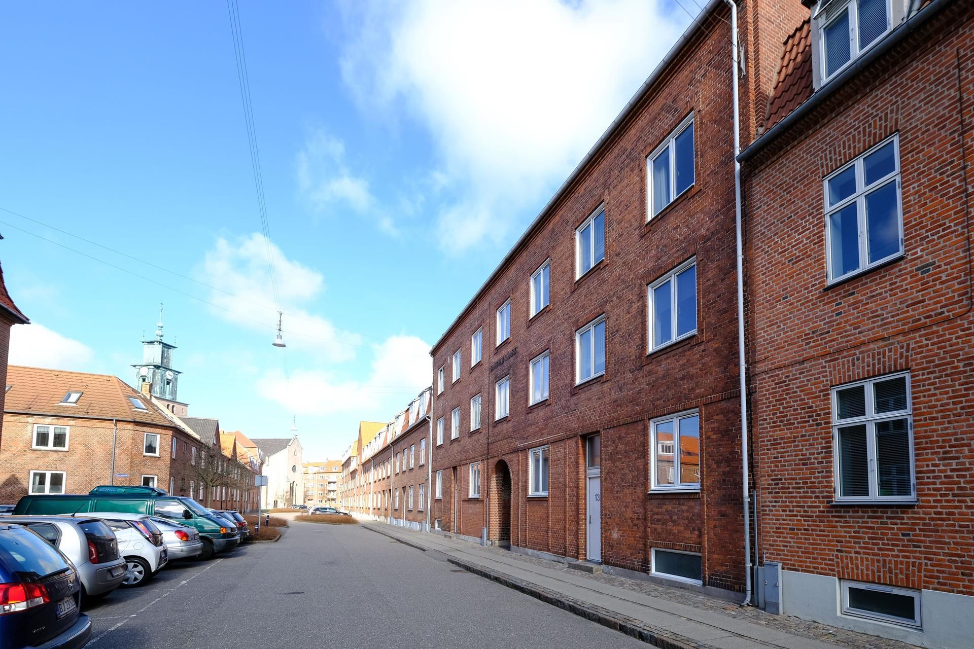 Boligudlejning på Norgesgade i Aalborg - Set fra vejen