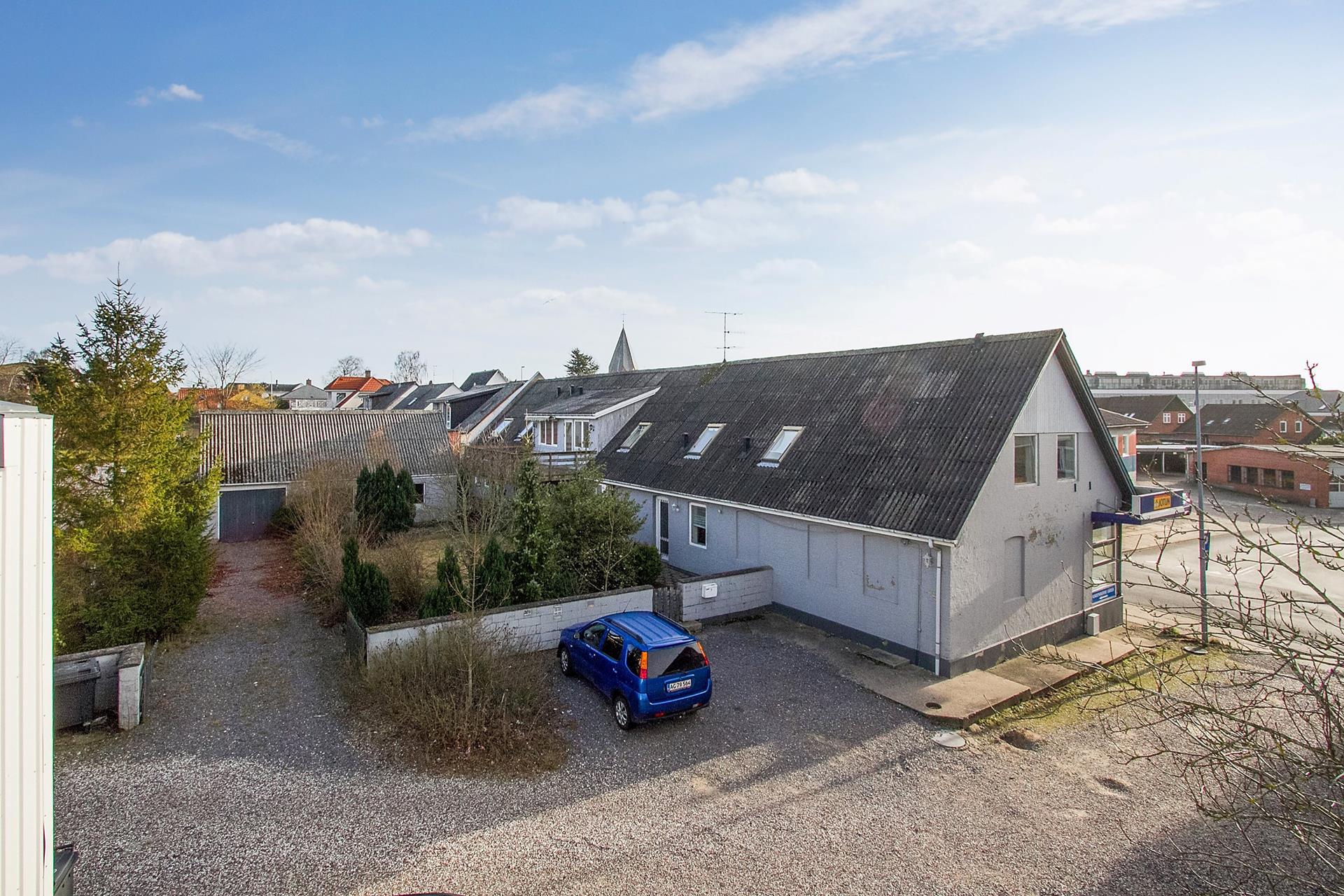 Bolig/erhverv på Østergade i Hadsund - Ejendommen