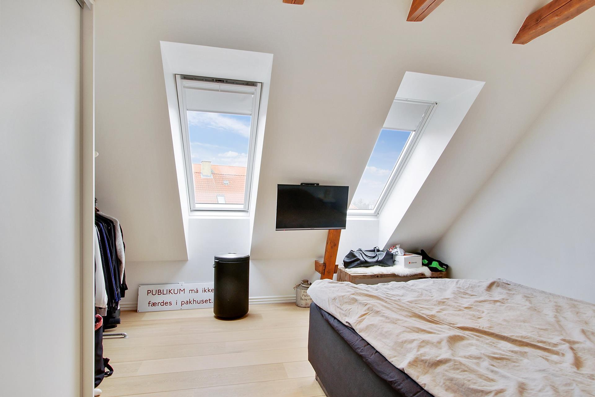 Boligudlejning på Bryggergade i Nørresundby - Soveværelse