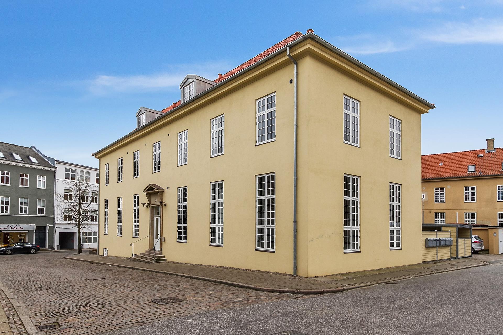 Boligudlejning på Bryggergade i Nørresundby - Ejendommen