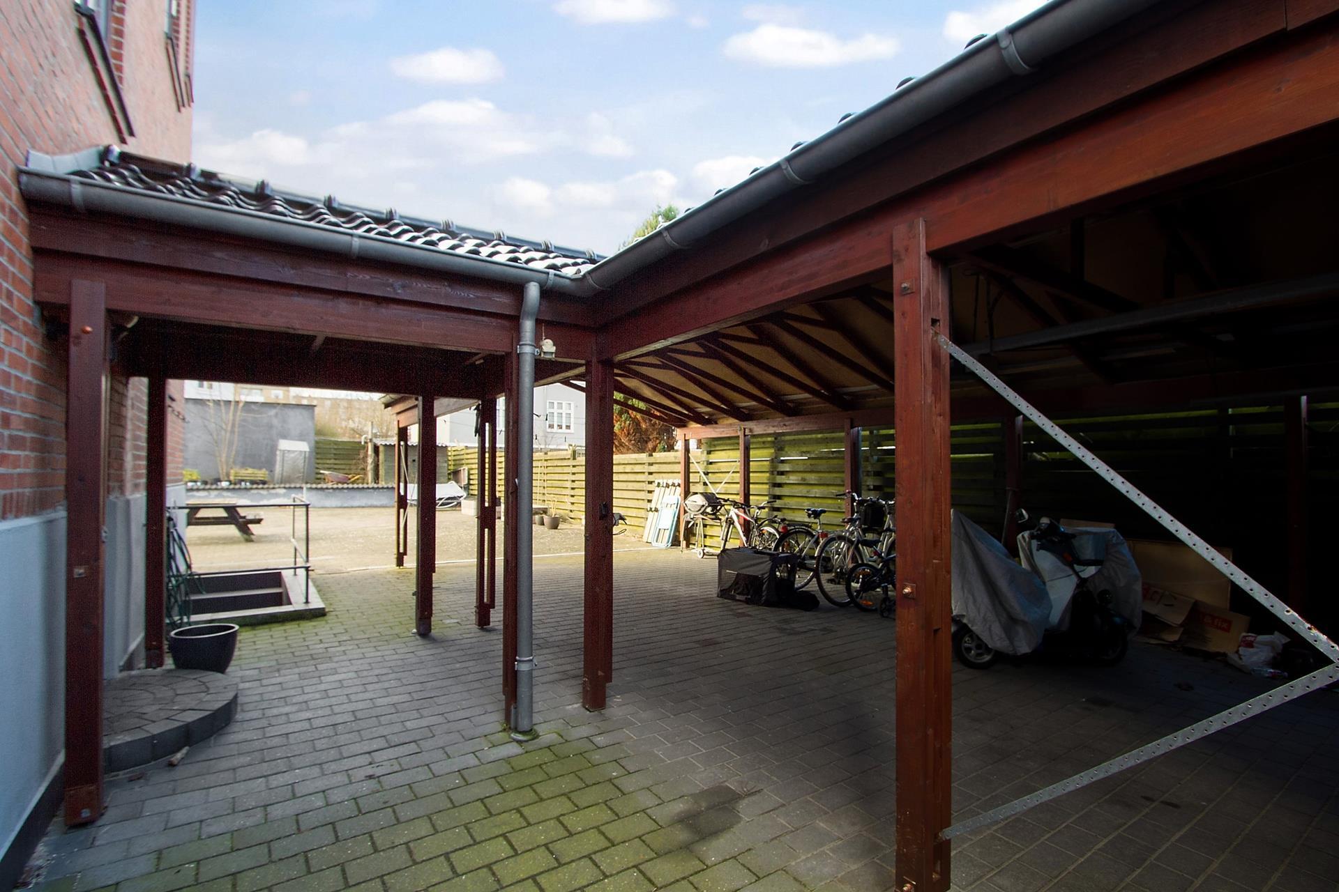 Bolig/erhverv på Tyge Brahes Vej i Aalborg - Cykelskur
