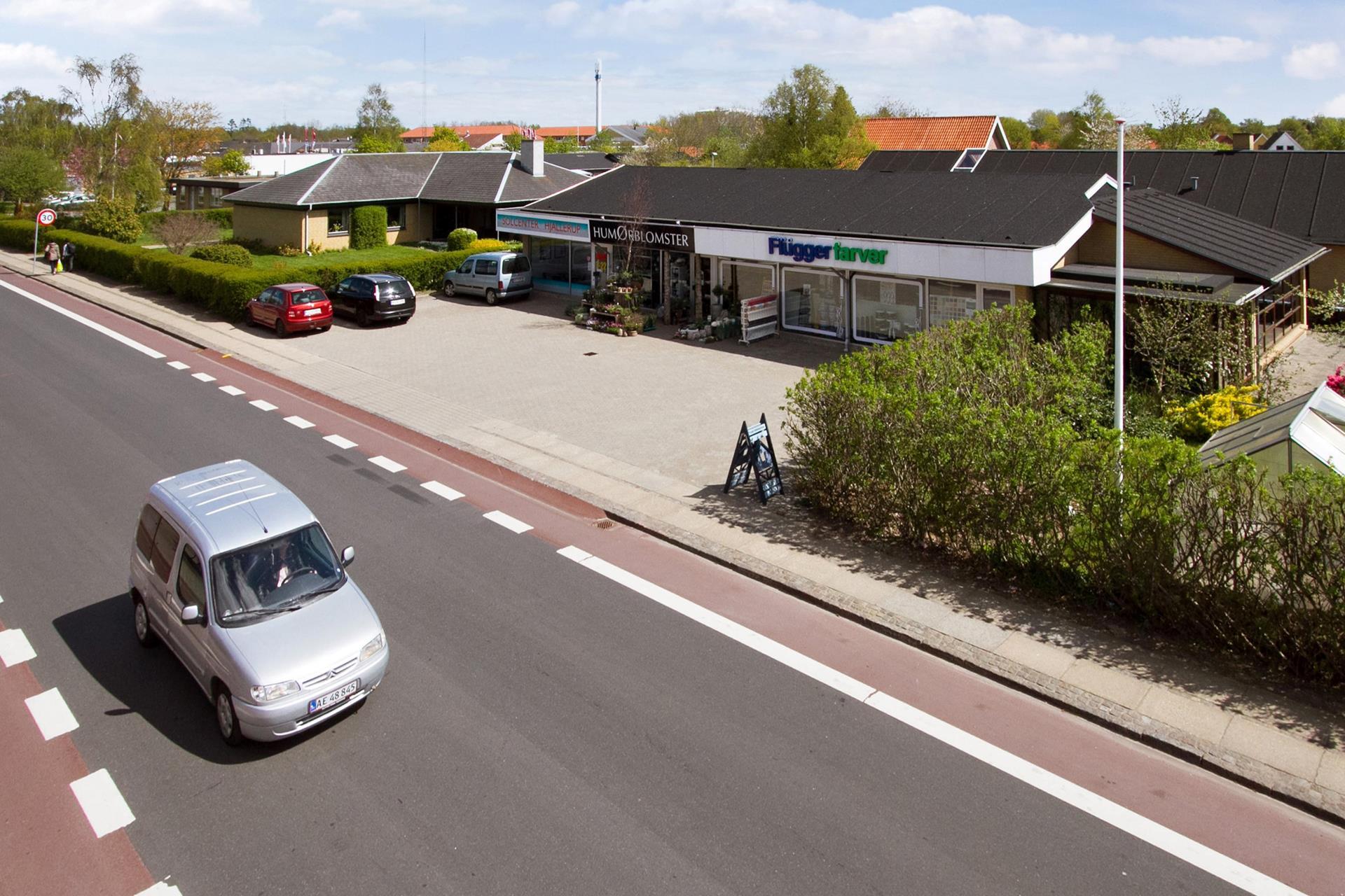 Bolig/erhverv på Brorsonsvej i Hjallerup - Ejendommen