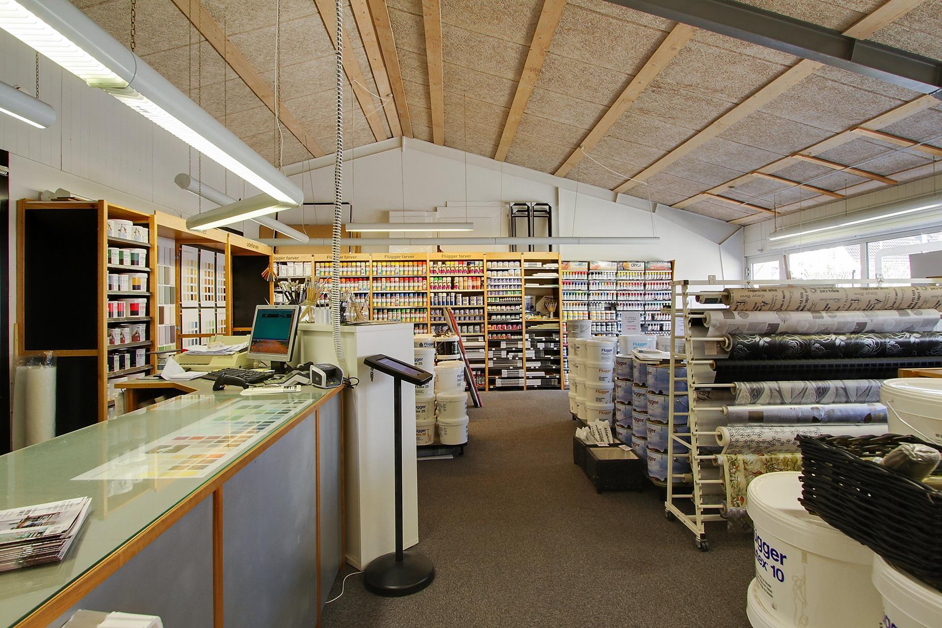 Bolig/erhverv på Brorsonsvej i Hjallerup - Butik